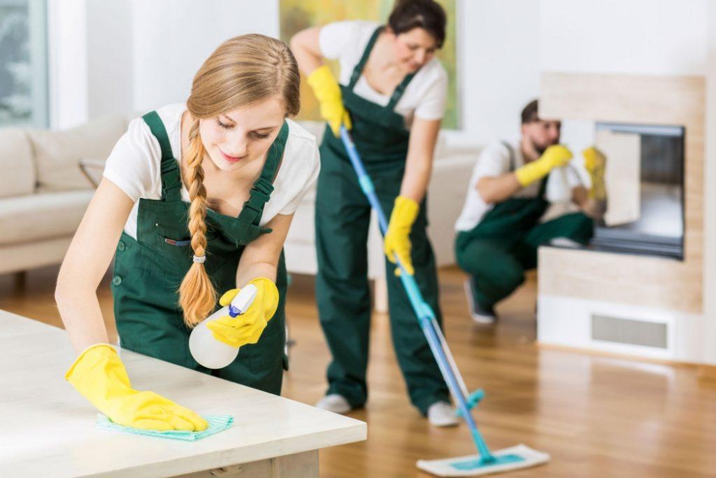 услуги уборка квартир